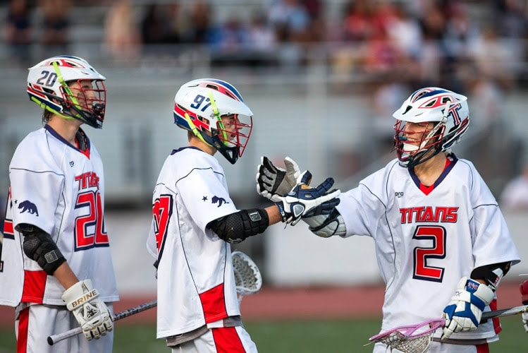 Tesoro comes together after a goal