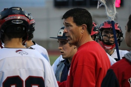 Coach Mike Schreiber has the Yorba Linda lacrosse program moving in the right direction.