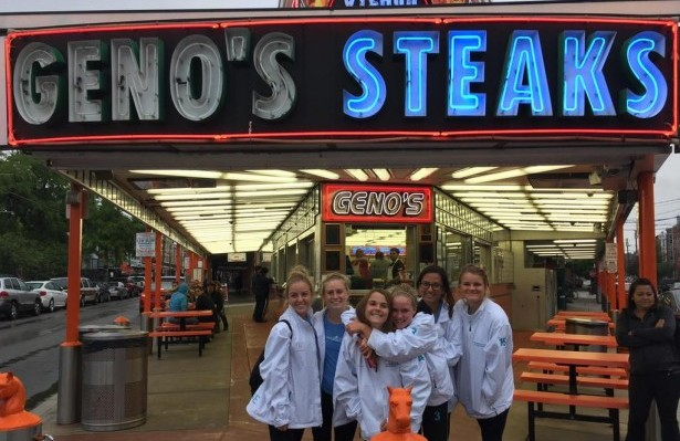 Orange County Women's National Team Enjoys Lunch at Geno's