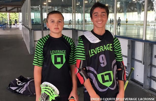 Luc Rettberg and Nick Butler, Leverage Lacrosse