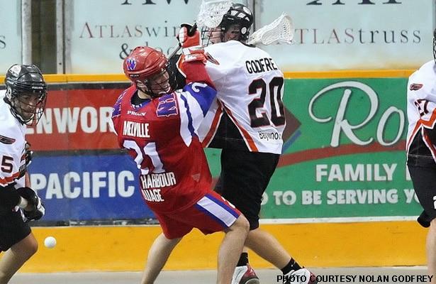 Nolan Godfrey, Senior A Box Lacrosse