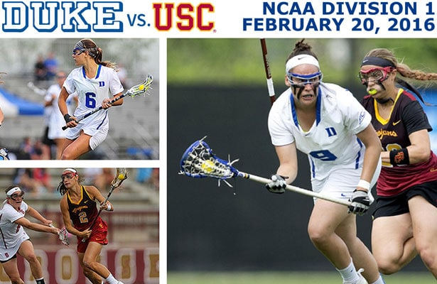 Watch USC vs. Duke, OC Winter Invitational