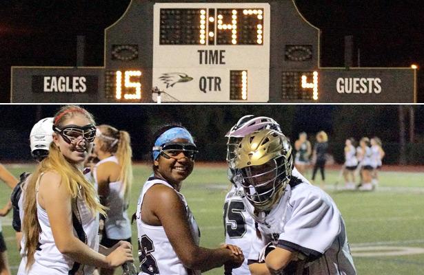 Oak Park girls vs. La Reina
