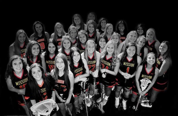 Mission Viejo Girls' Lacrosse 2016 varsity.