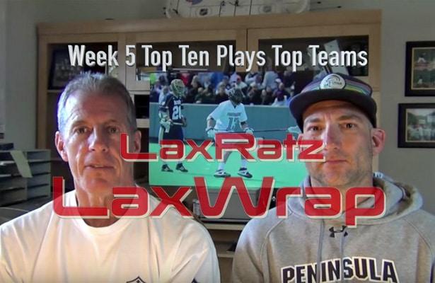 LaxRatz on Week 5
