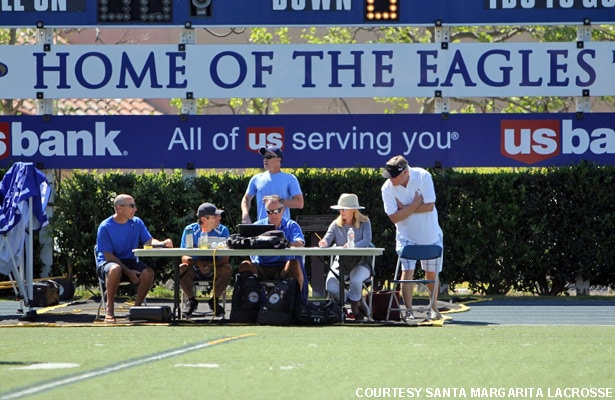Santa Margarita Catholic scorer's table