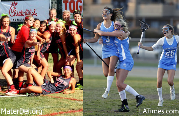 Mater dei girls lacrosse corona del mar girls lacrosse