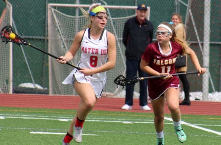 Grace Houser signed a national letter of intent to play women's lacrosse at Cal.