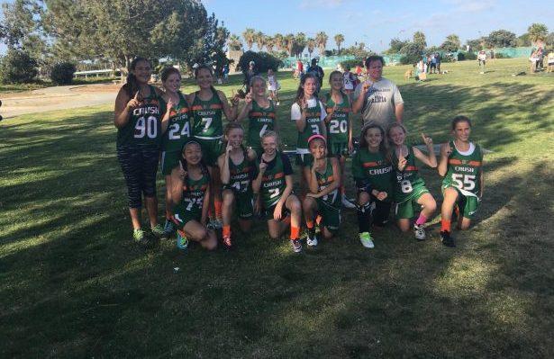 Crush girls lacrosse, 2016 Mad Dog Festival