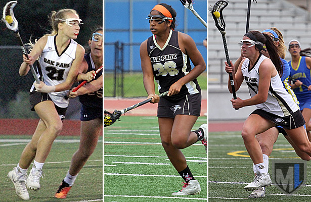 US Lacrosse All-Americans Ania Brown, Emma Barrow and Morgan Shorts