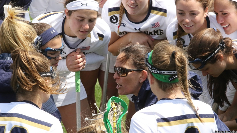 Kathleen Roe of Regis Jesuit was welcomed to the 2017 Notre Dame Women's Lacrosse roster.