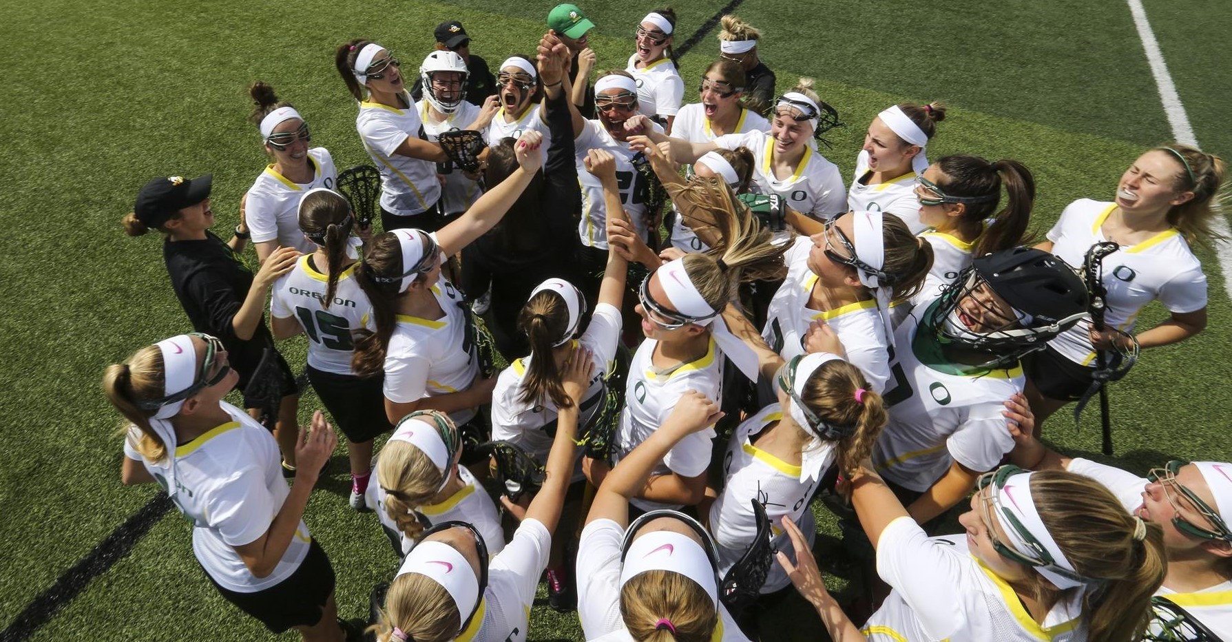 Jen Lanuza is one of eight newcomers to join the Oregon Women's Lacrosse roster.