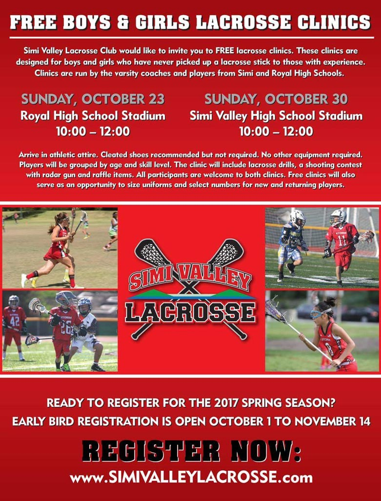 Simi Valley Youth Lacrosse clinics