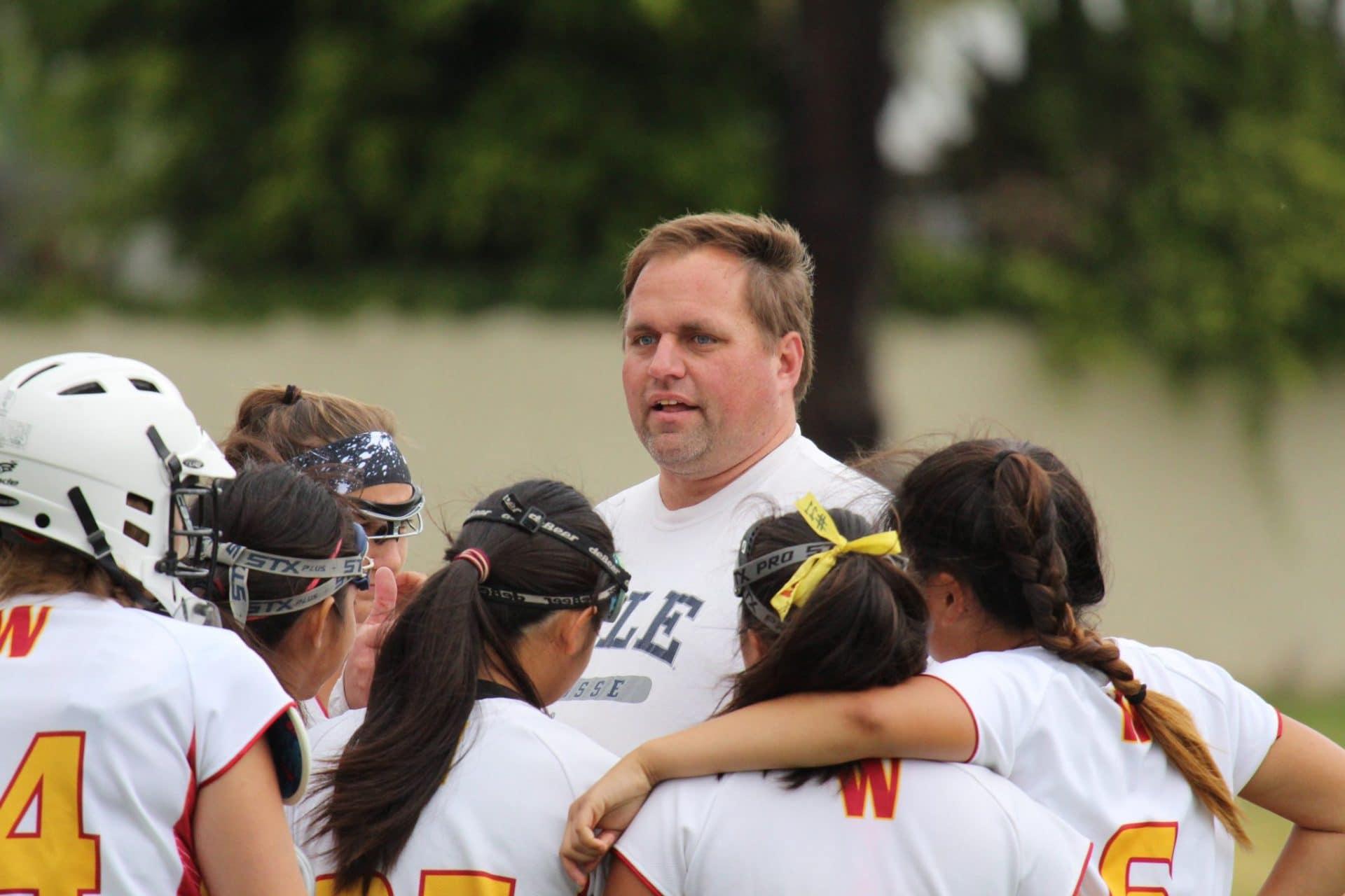 Grant Davis, Woodbridge girls lacrosse