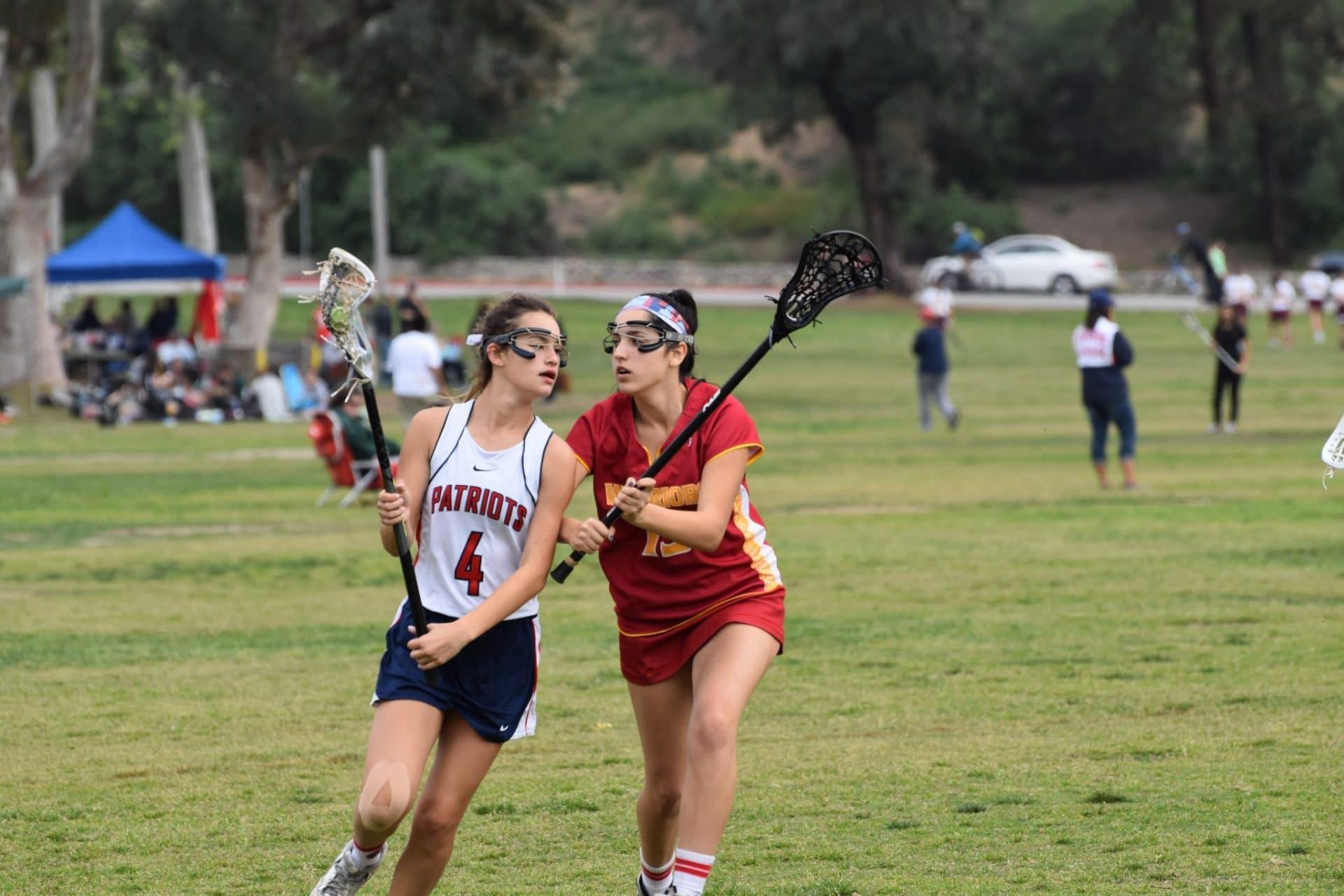 Woodbridge Girls Lacrosse plays Beckman girls lacrosse
