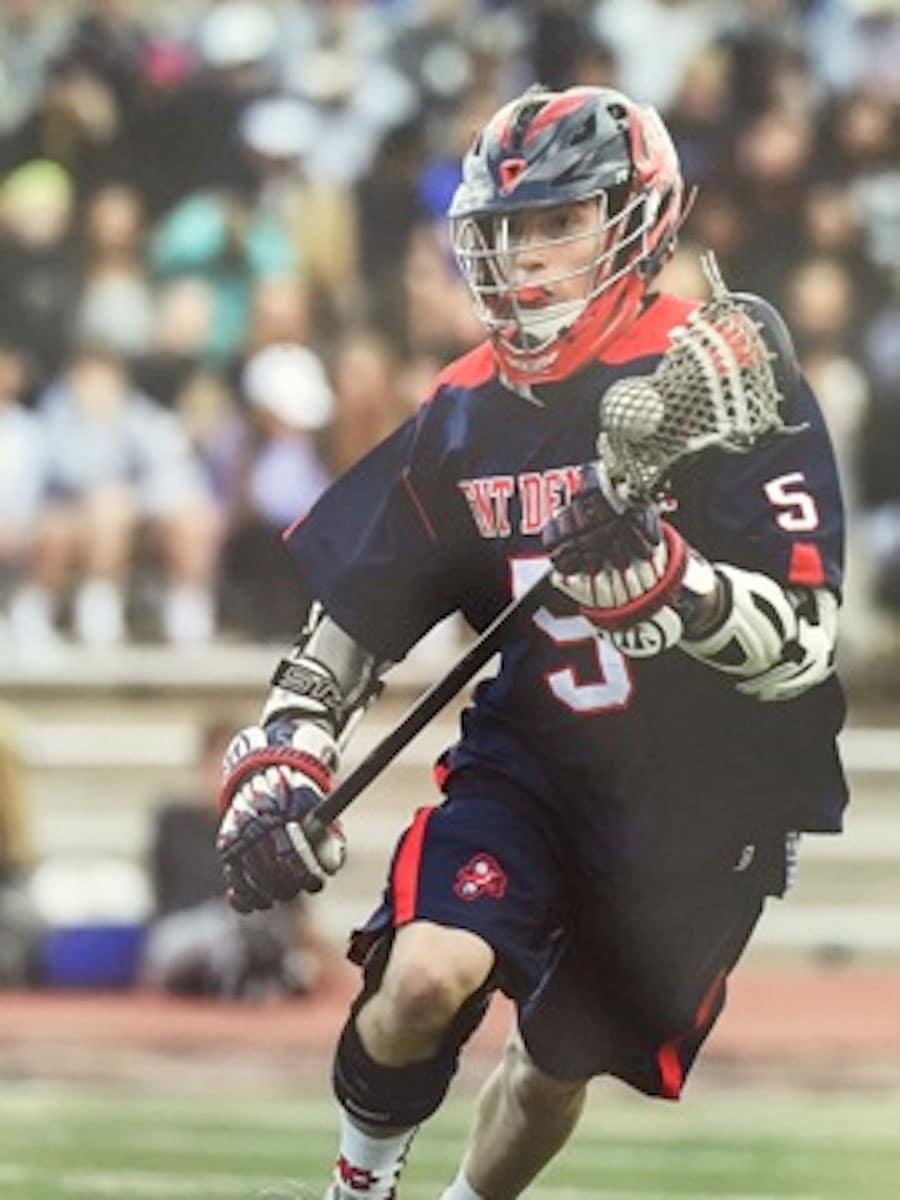 James Hueston (Kent Denver) plays for Vassar Men's lacrosse.