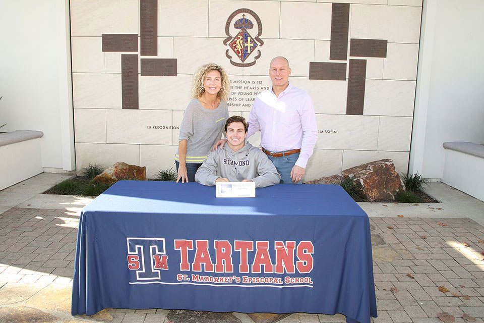 Jeremy Davis committed to play for the University of Richmond Men's Lacrosse Team