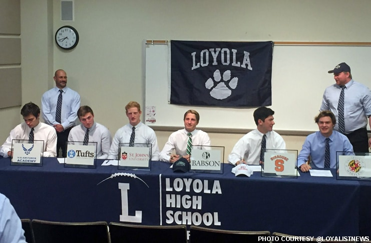 Loyola Cubs signing day 2016