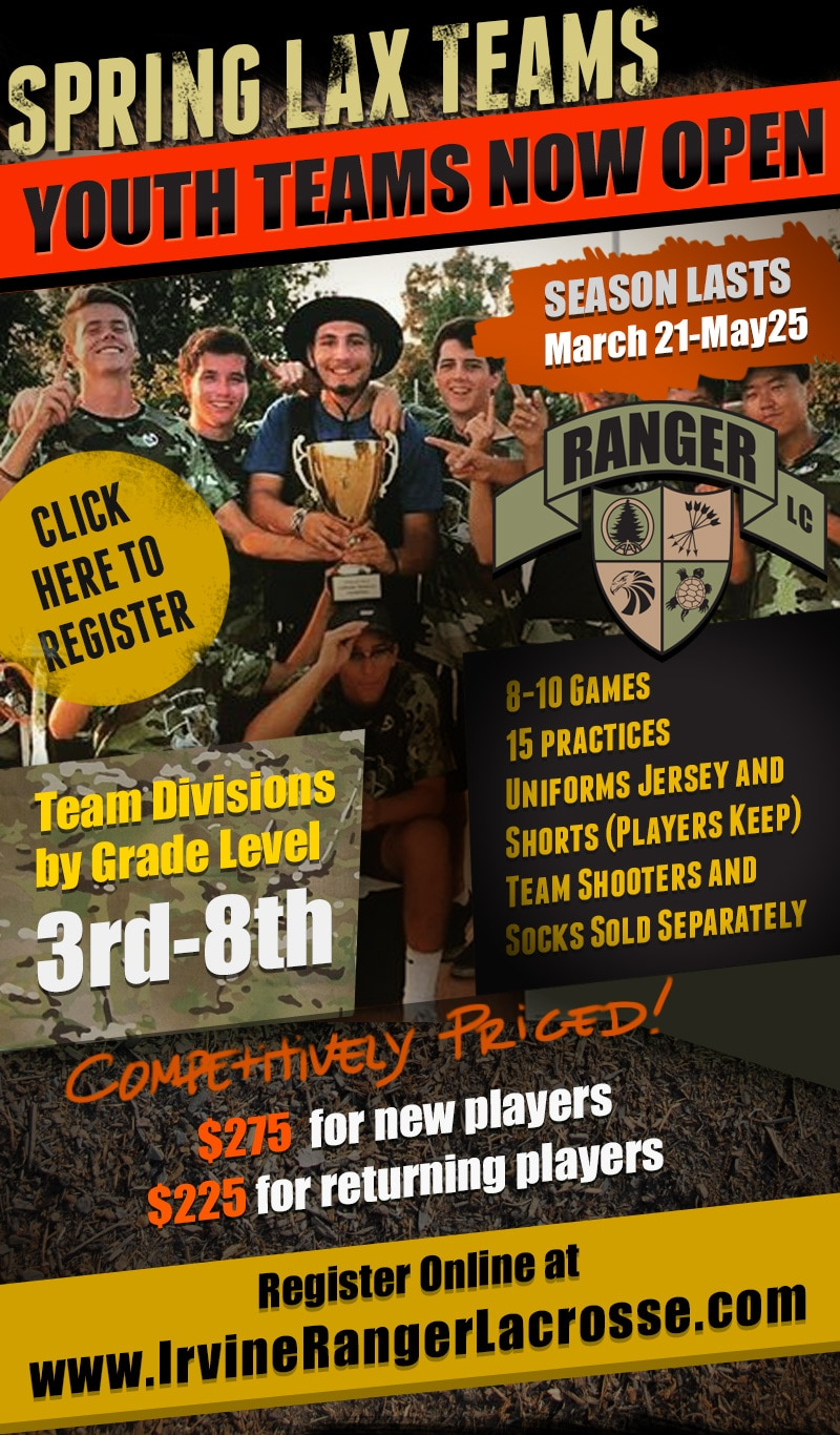 Irvine Rangers Spring 2017