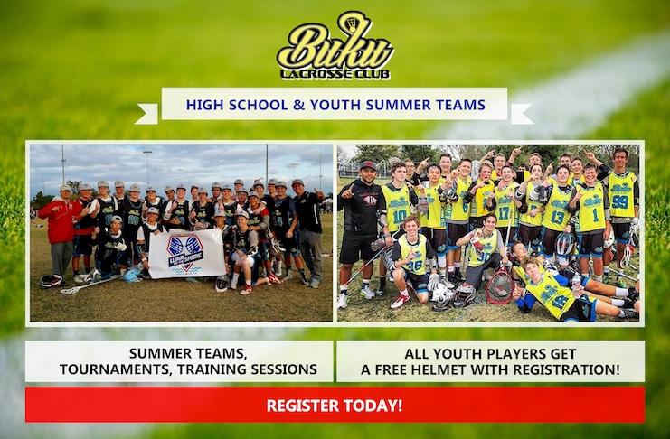 Buku Lacrosse Summer Programs 2017