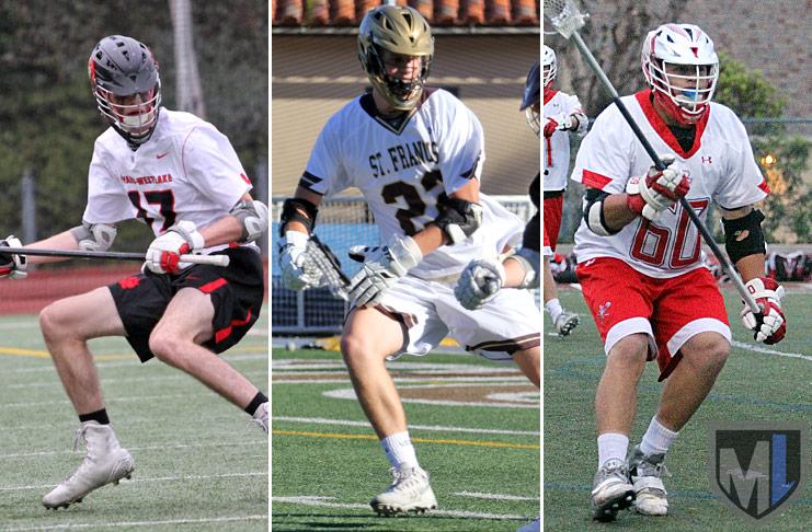 Senior Defenders: Shane Houska, Harvard Westlake; Jim Murphy, St. Francis; Matt Nagy, Palos Verdes