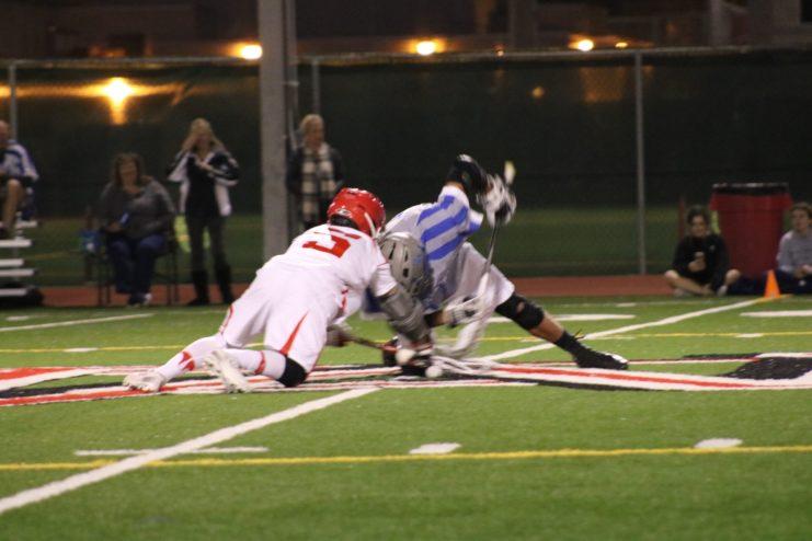 Mater Dei Boys Lacrosse defeated Dana Hills.