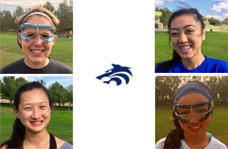 Northwood Girls' Lacrosse Captains 2017