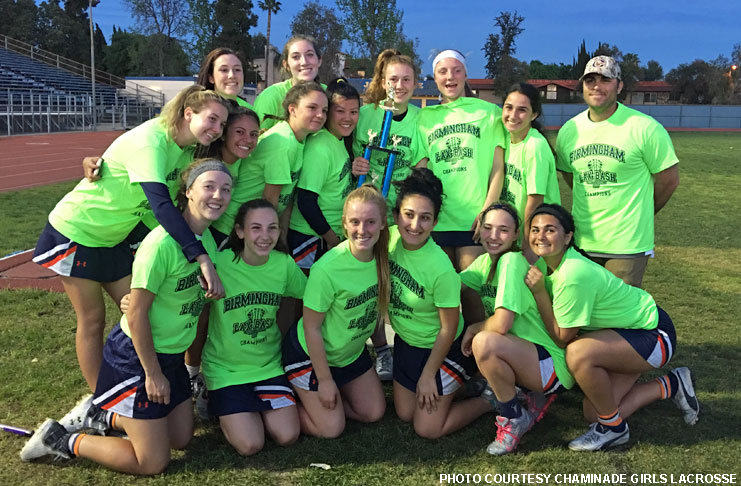 Chaminade girls lacrosse