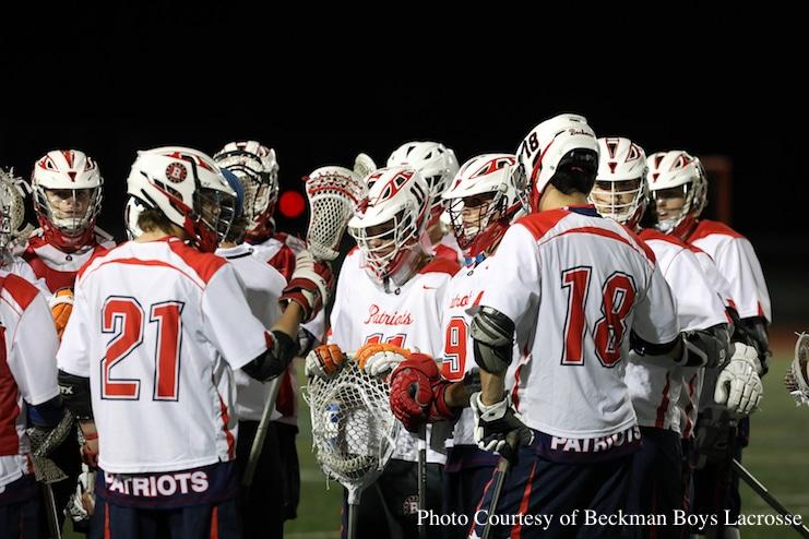 Beckman Boys Lacrosse
