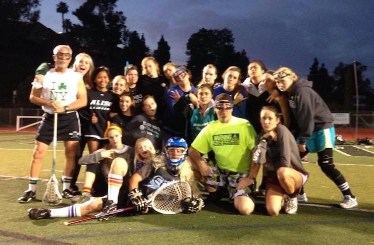 Dave Elkins, Aliso Niguel Girls Lacrosse Coach