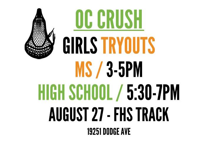 OC Crush Girls Lacrosse