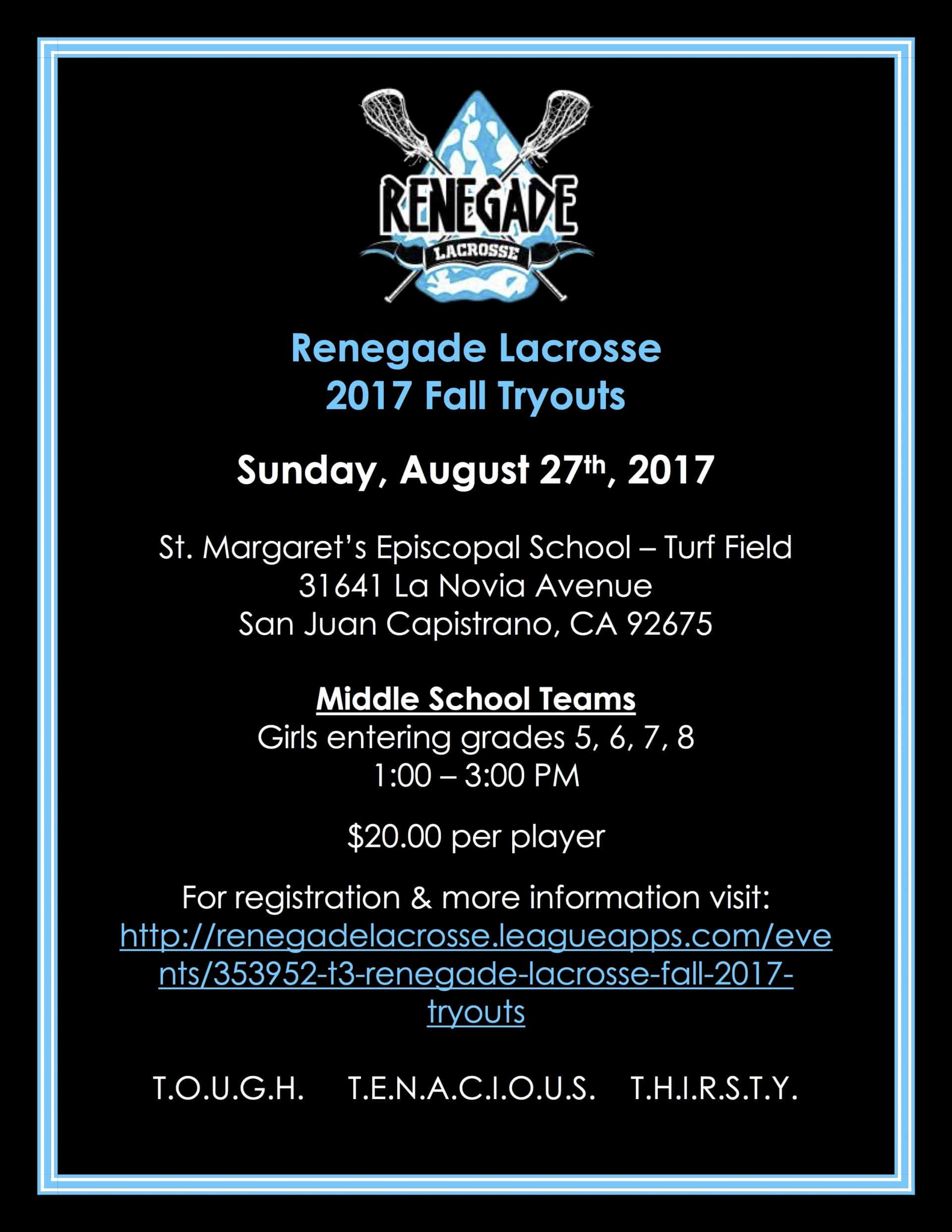 Renegade Lacrosse Powered by Holly Reilly