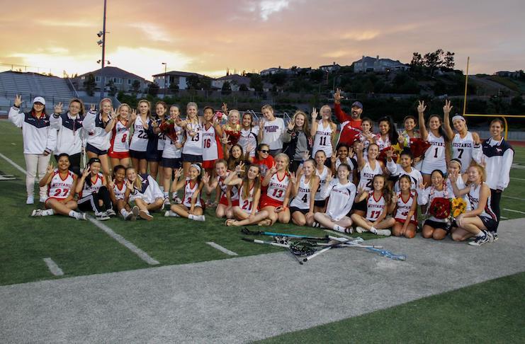 Yorba Linda Girls' lacrosse