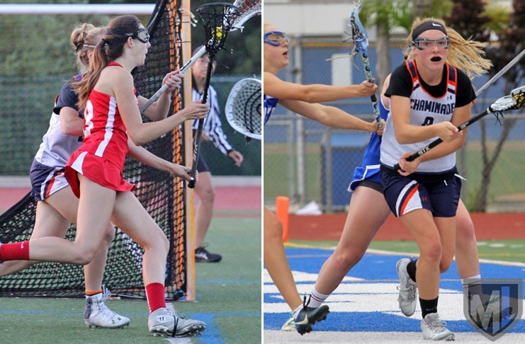 Girls 2017 All-Americans: Alison Shafer, Redondo and Cate Mackel, Chaminade