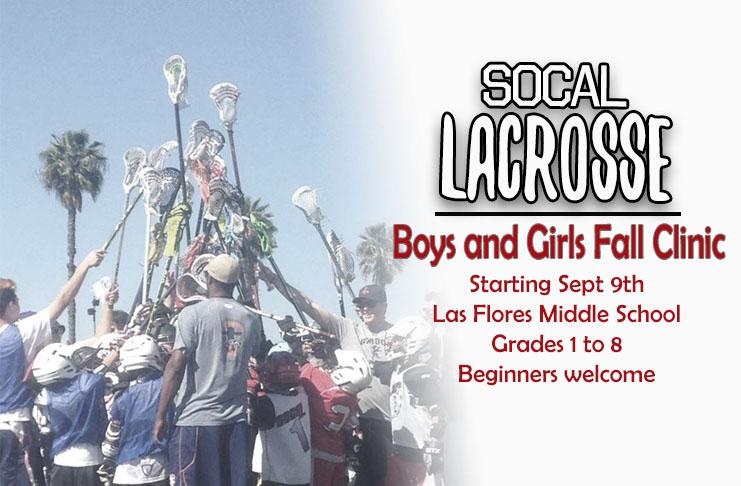 SoCal Lacrosse Fall Clinics