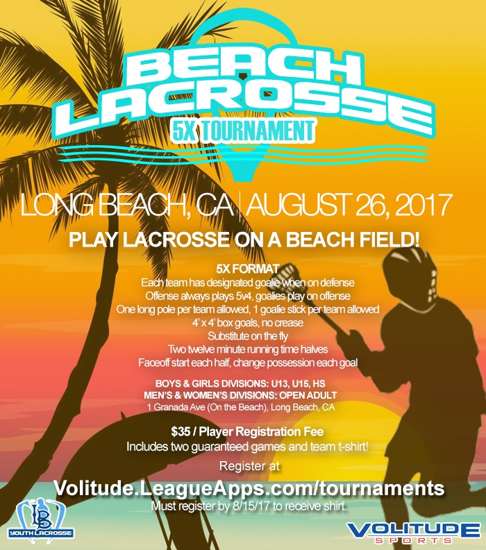 Beach Lacrosse 5x Tournament