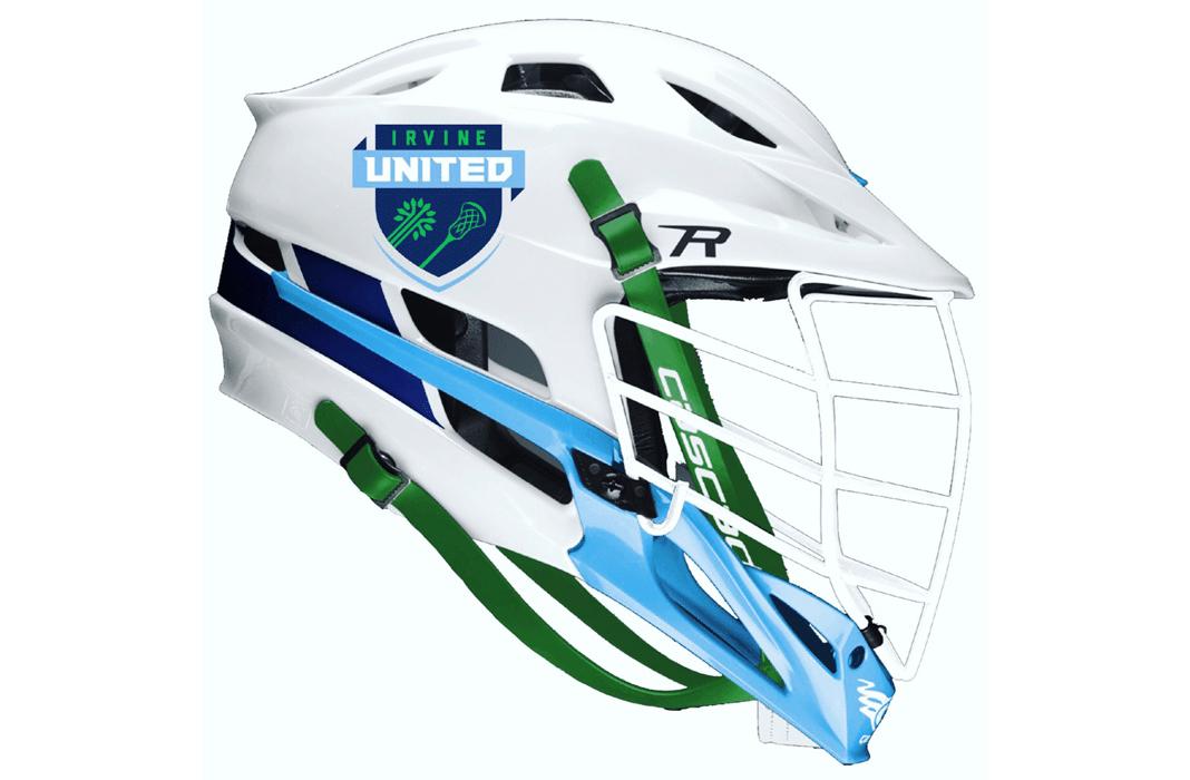 Irvine United Helmet Mockup