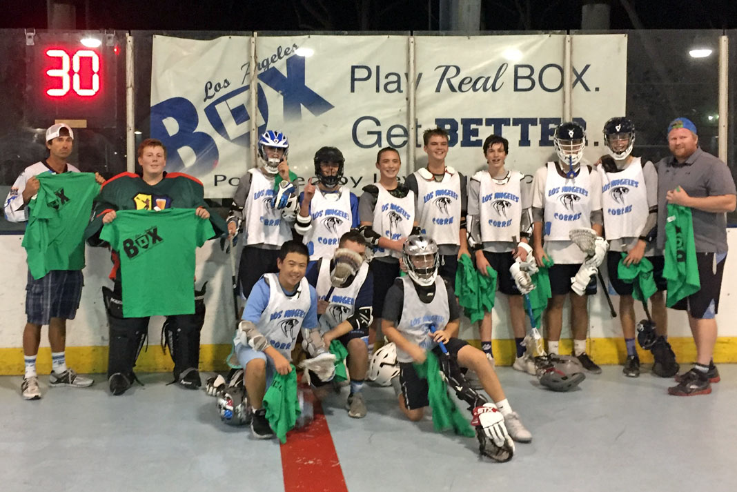 LA Cobras JV LA Box League champs