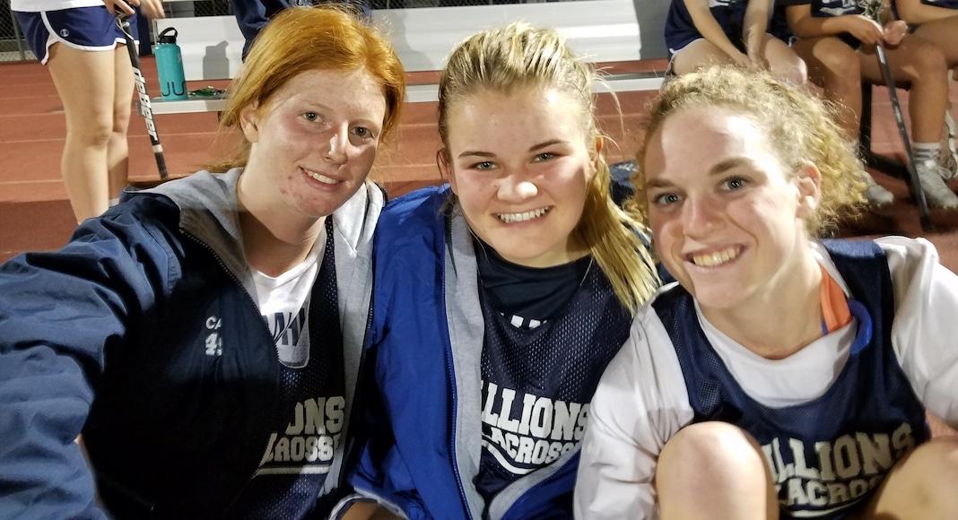 San Juan HIlls 2018 Girls Lacrosse Captains