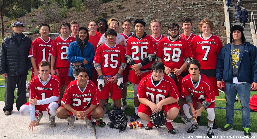 Village Christian boys lacrosse
