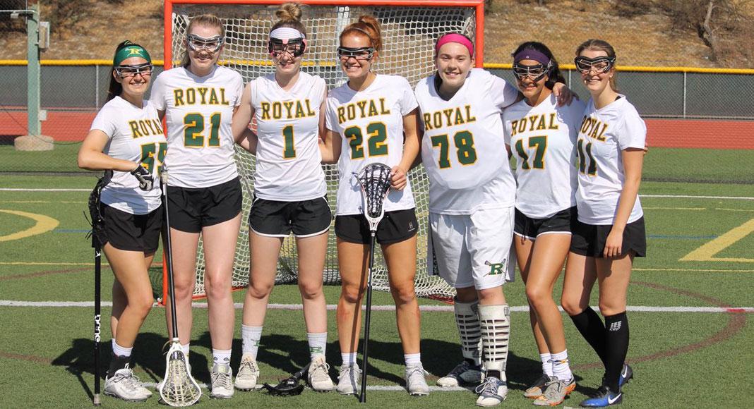 Royal girls lacrosse seniors