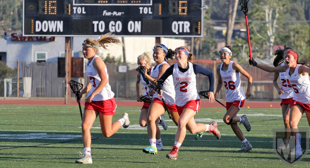 Redondo Union girls lacrosse