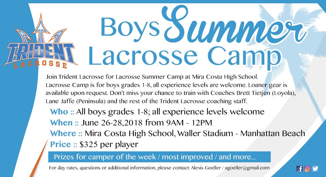 Trident Lacrosse Summer Camp