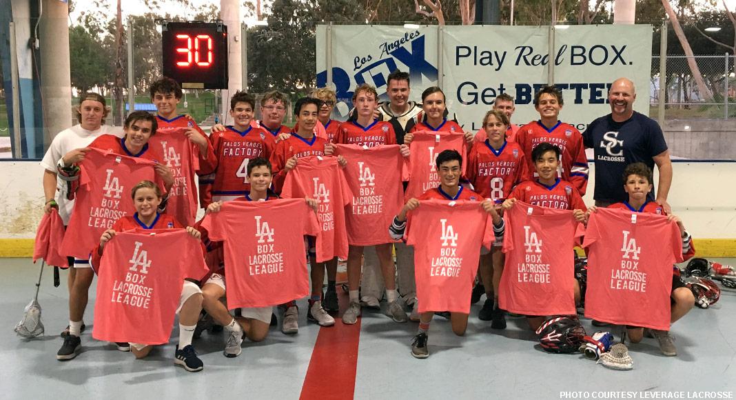 Factory Lacrosse, 2018 LA Box League JV Champions
