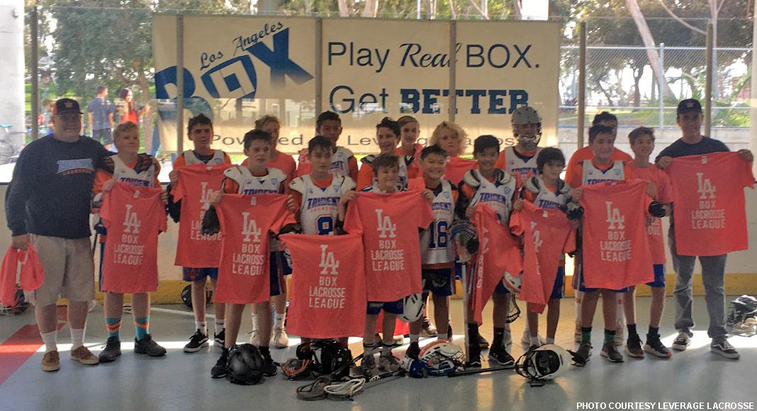Trident Lacrosse, 2018 LA Box League Middle School champions