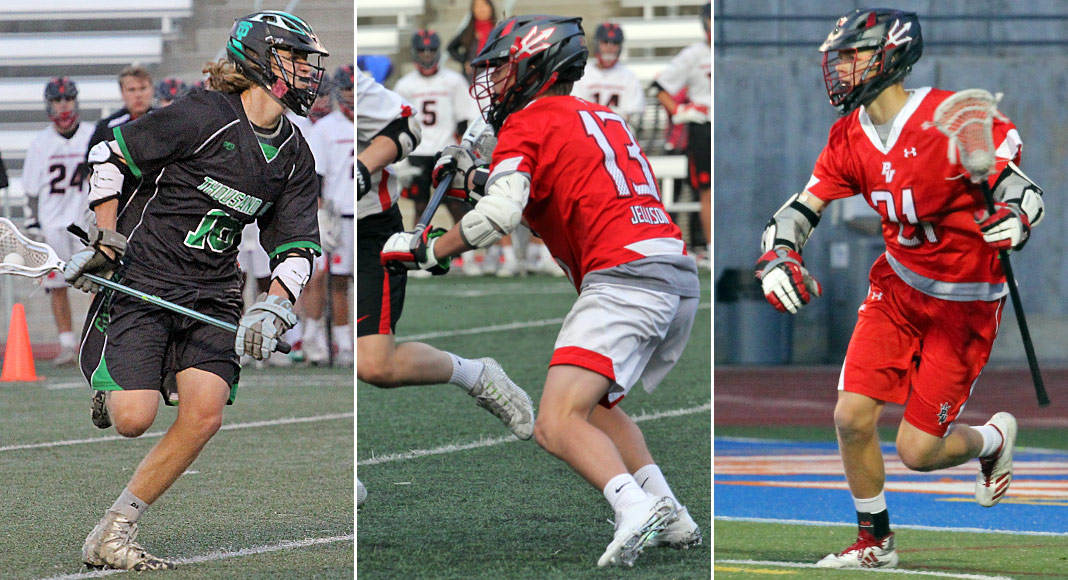 2019 Players to Watch: Junior middies Nick Ditto, Jake Jellison, Birk Swan.