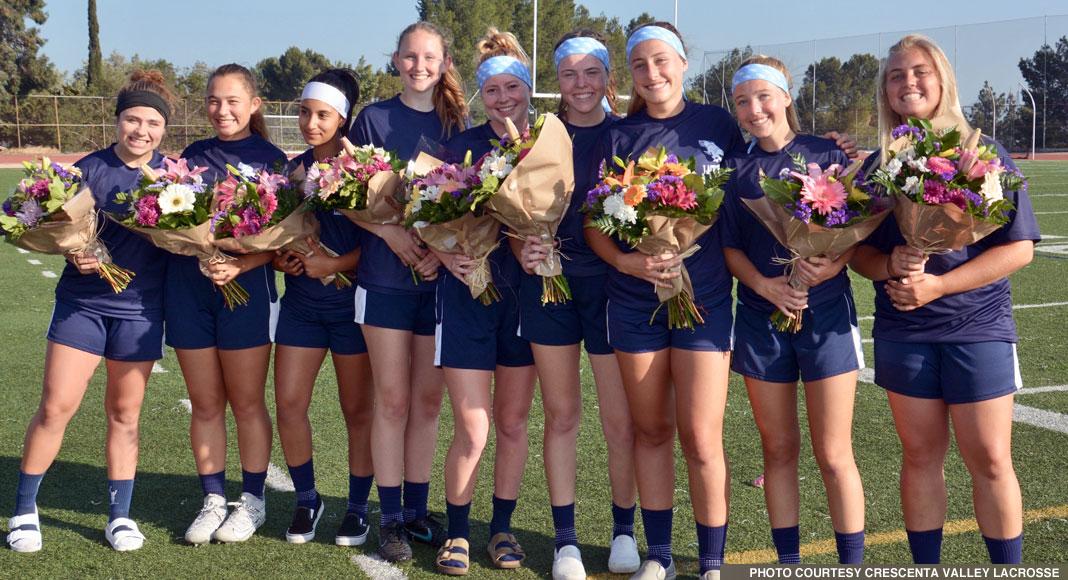 Crescenta Valley girls lacrosse, 2019 Seniors